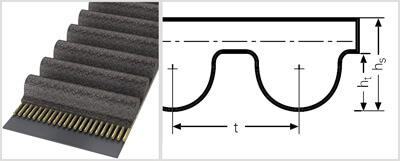 Зубчатый ремень HTD 3280 8M CXP  ( 3280 8М СХР )